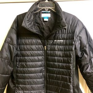 Women's Columbia Puffer Jacket - Blk - 1x